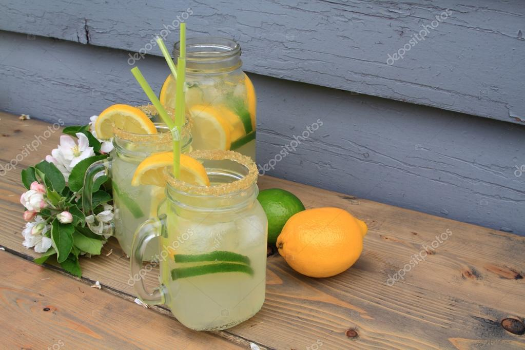 Cold lemonade for the worm days