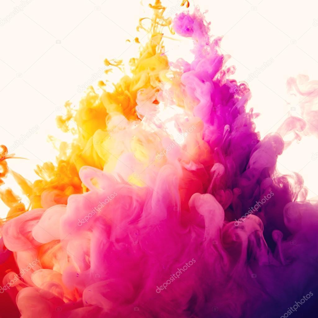 Краски всплеск