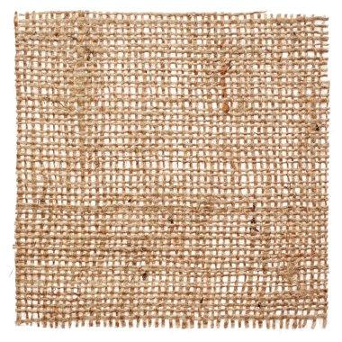 Piece of linen fabric