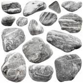 Sada z šedých kamenů