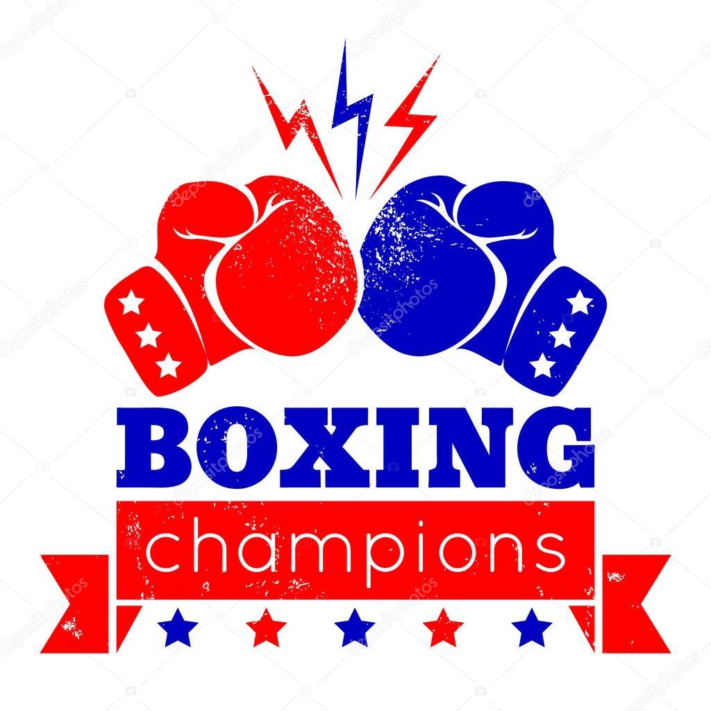 logotyp f246r en boxning � stock vektor 169 serazetdinov 69462783