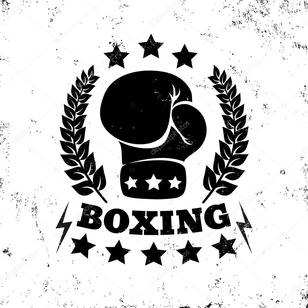 vintage boxing logo stock vector  u00a9 serazetdinov 99557842 boxing logo images boxing logo clip art