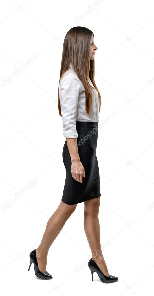 vector woman in stock clothing photo clothes business office illustration