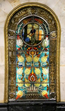 Stained glass picture