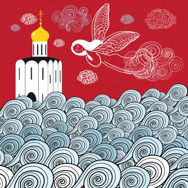 Orthodox church and the river of life