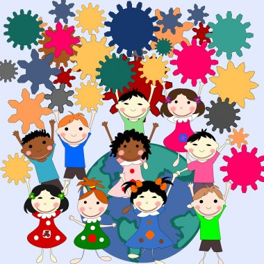 Children -future minds in the world, the concept of children of