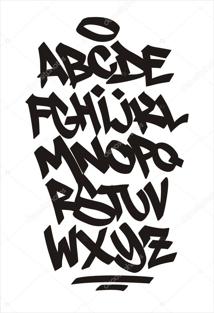 Printable Old English Letter Stencils
