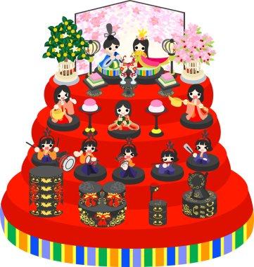 Girls Festival in Japan
