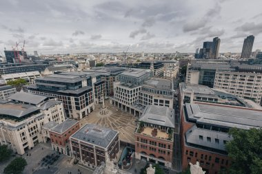 panorama with urban architectures