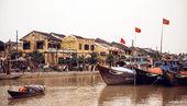 Boats in Hue, Vietnam
