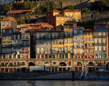 colorful houses of Porto city