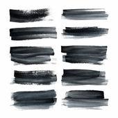 Akvarell foltok csoportja.