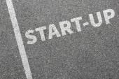 Spuštění při spuštění vyskočit obchodní koncept spuštění spuštění zjistí