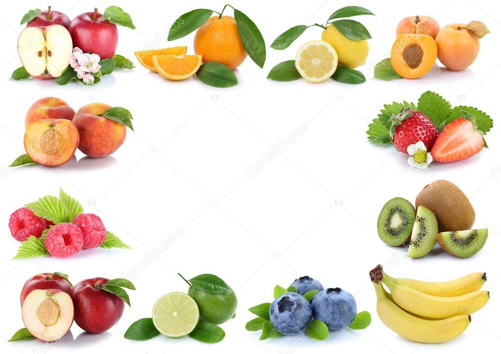 Espacio de copia de copyspace de frutas fruta fresca manzana naranja ...