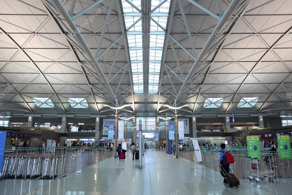 Terminal Seoul Incheon International Airport — Redaktionelles ...