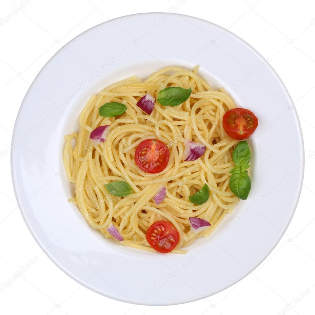 Domatesli Fesleğenli Spaghetti