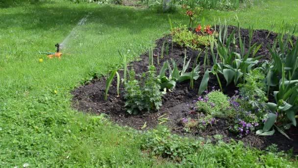 automatische Wassersprenger starke Spray Bewässerung Gras