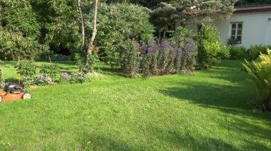 timelapse d homme tondre la pelouse vid o jakerbreaker 148058841. Black Bedroom Furniture Sets. Home Design Ideas