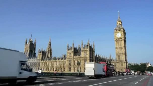 klasické zobrazení velkých bena nd domy parlamentu, Londýn, Anglie