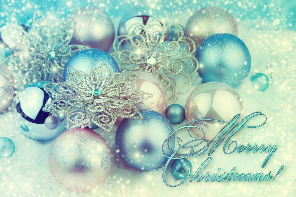 Blau Und Rosa Weihnachtskugel Weihnachten Hintergrundinformationen