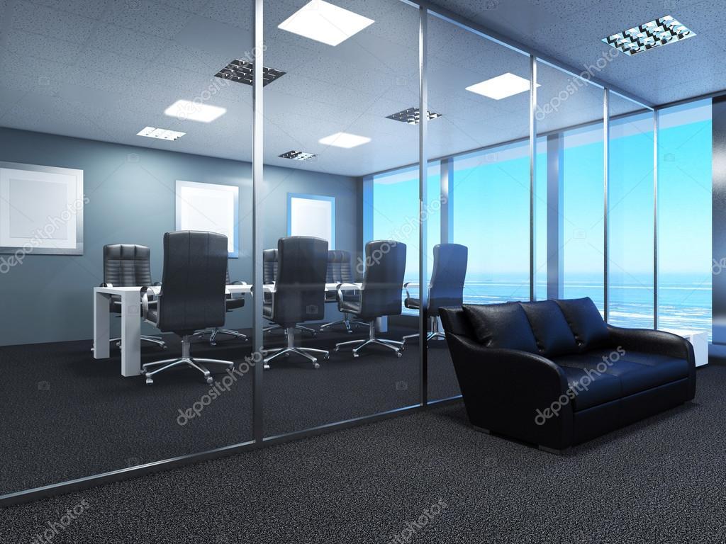 3D-Rendering Bürofläche im Einkaufszentrum — Stockfoto © kellkinel ...
