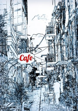 cafes in the old city