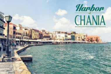 Chania on island of Crete, Greece