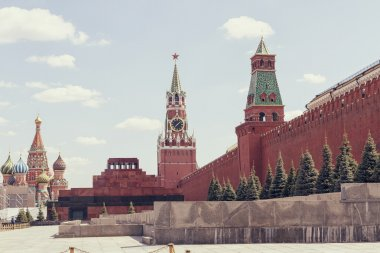 St. Basil's Cathedral, Lenin's Mausoleum, Spasskaya Tower