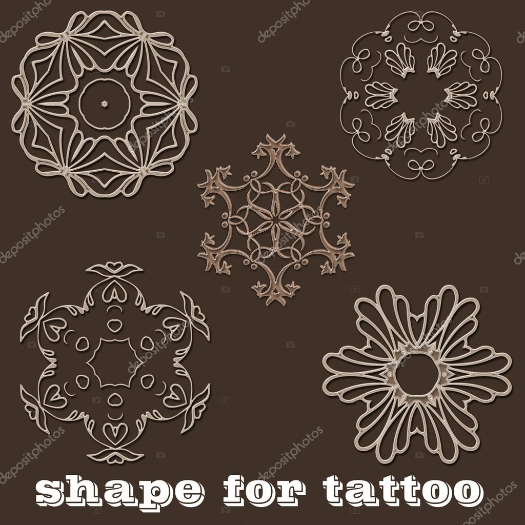 Henna Tattoo Mehndi On Hand Mandala Stock Photo C Jimny 106939356