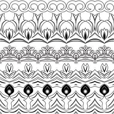 Decoration elements tattoo