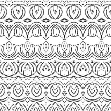 Border patterns element tattoo