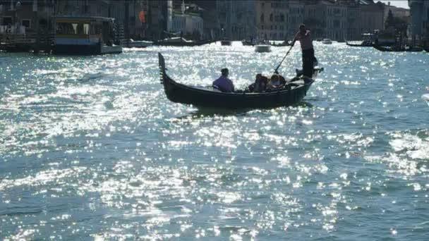 gondola na canal grande, Benátky, Itálie