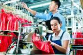 Seamstress and shift supervisor