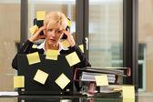 Photo Stress in the office - multi tasking