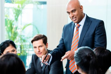 Indian Business man - meeting