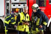 Fotografie Plánování nasazení hasičů