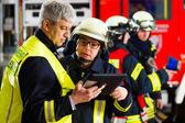 Plánování na počítači zavedení požární