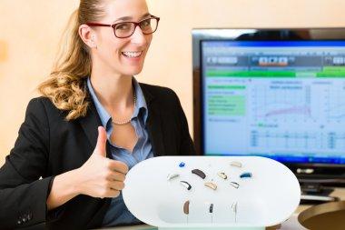 Presentation of hearing aid