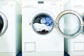 Pračky v prádelně