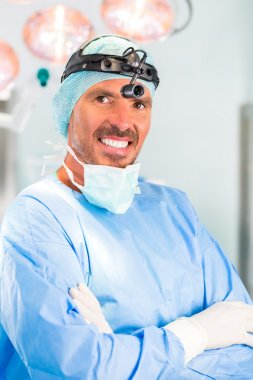 Hospital - doctor or surgeon in operating room
