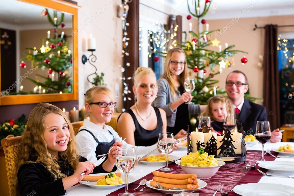 Weihnachten abendessen wien
