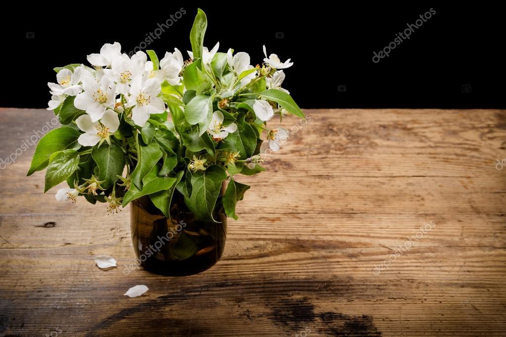 Bouquet de fleurs de poire en verre photographie for Bouquet de fleurs 94