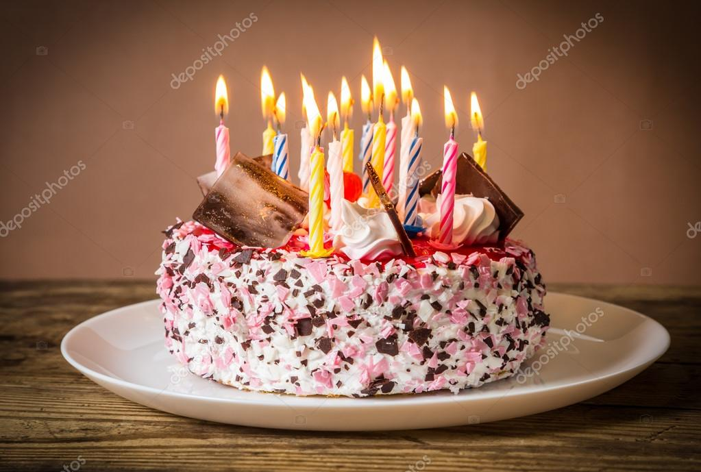 St Birthday Cake Candles