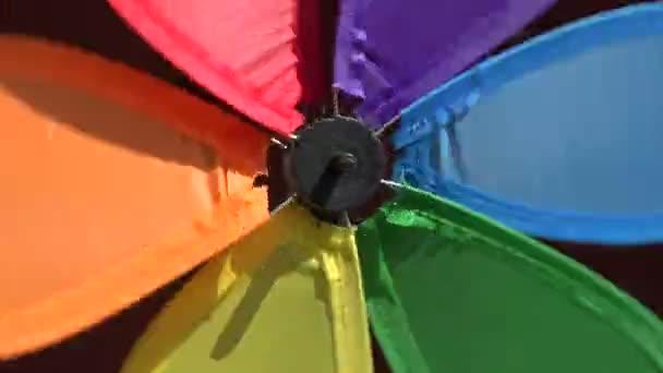 Větrný mlýn Rainbow soustružení, 4k