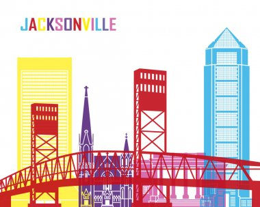 Jacksonville skyline pop