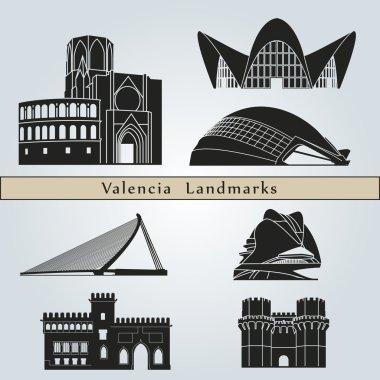 Valencia landmarks and monuments