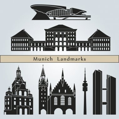 Munich landmarks and monuments