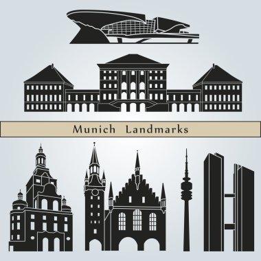 Munich landmarks and monuments