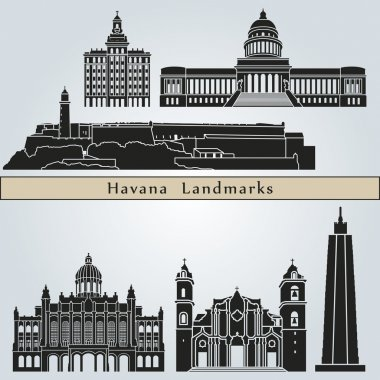 Havana landmarks and monuments