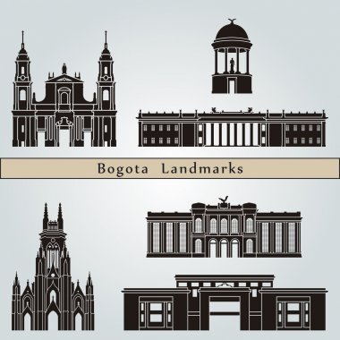 Bogota landmarks and monuments